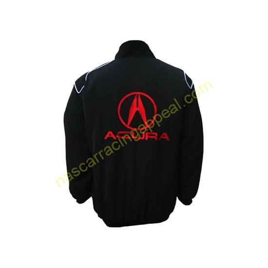 Acura Racing Jacket Black back