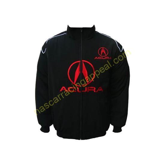 Acura Racing Jacket Black front