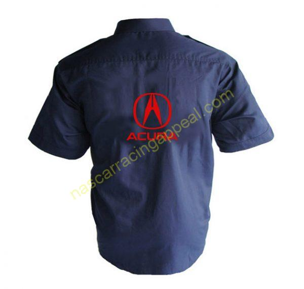Acura Crew Shirt Dark Blue
