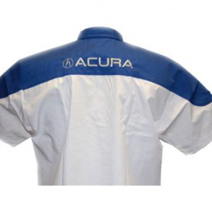 Acura Motorsports Crew Shirt Dark Blue