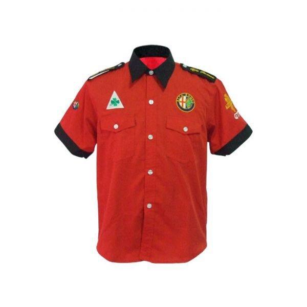 Alfa Romeo GTA Crew Shirt Red