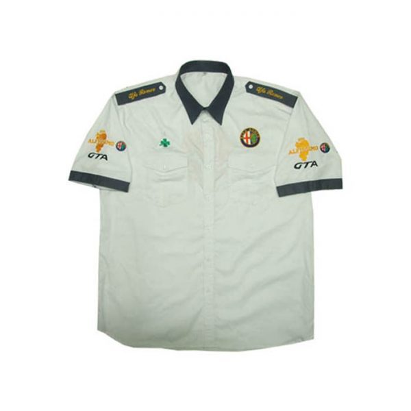 Alfa Romeo GTA Crew Shirt White