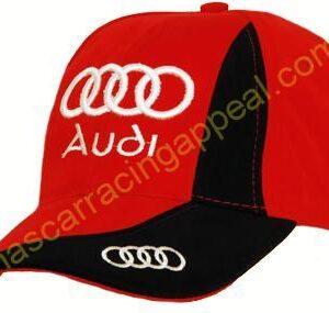 Audi Sport Red Adjustable Cap Hat