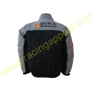 Buick Black & Gray Racing Jacket Jacke
