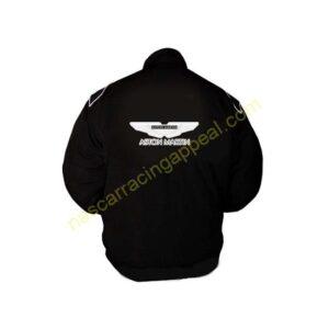 Aston Martin Black Racing Jacket Coat back