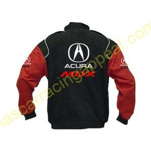 Acura MDX Racing Jacket Black and Red back