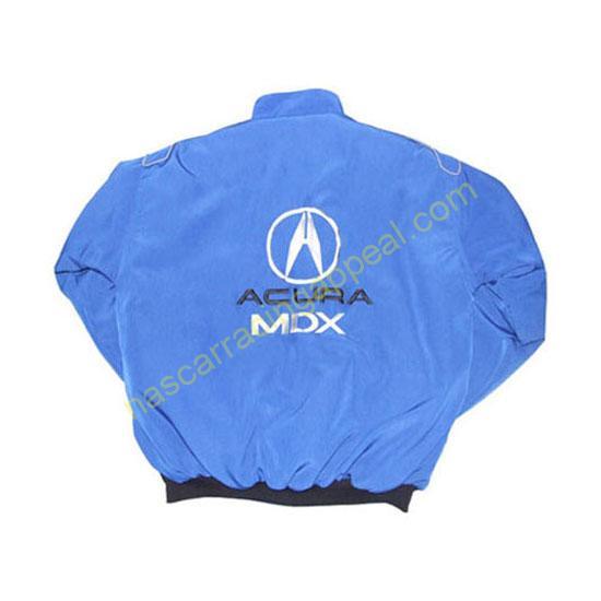 Acura MDX Racing Jacket Blue back