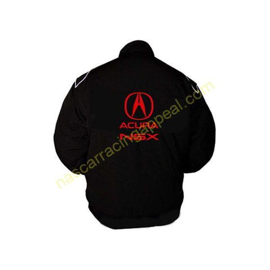 Acura NSX Racing Jacket Black back