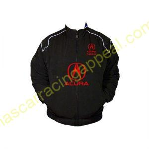 Acura NSX Racing Jacket Black front