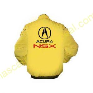 Acura NSX Racing Jacket Yellow back