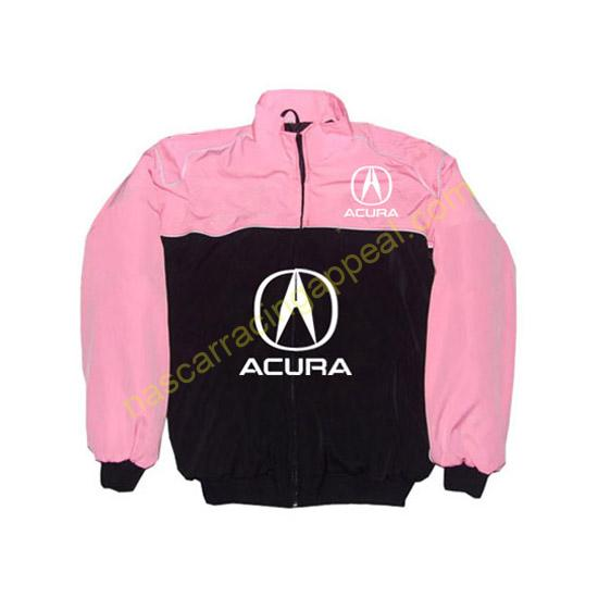 Acura Racing Jacket Pink and Black front