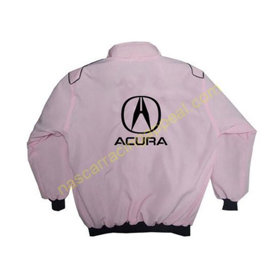 Acura Racing Jacket Pink back