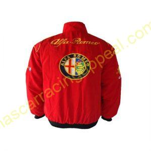 Alfa Romeo Racing Jacket Red back