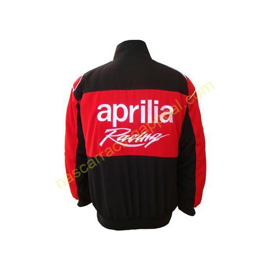 Aprilia Racing Team Red and Black Jacket