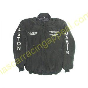Aston Martin Racing Jacket Black front