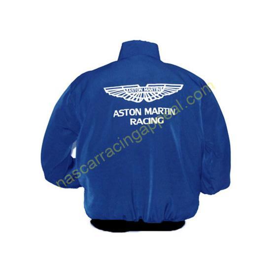 Aston Martin Racing Jacket Royal Blue back