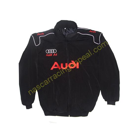 Audi A4 Racing Jacket Black front