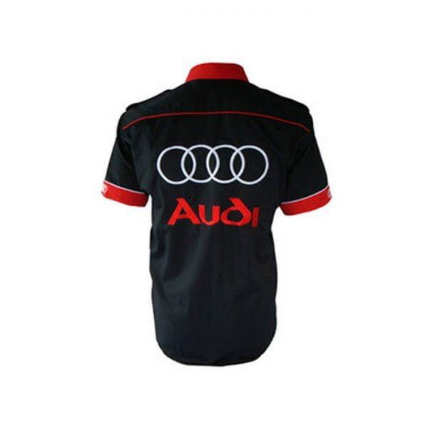 Audi Crew Shirt Black back