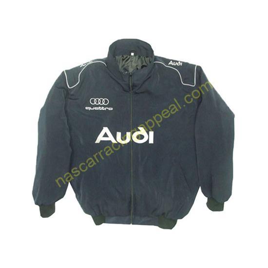 Audi Quattro Navy Blue Jacket front