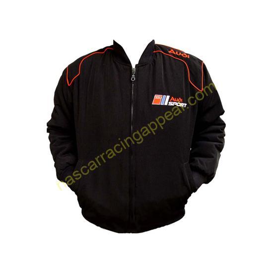 Audi Racing Jacket Black front
