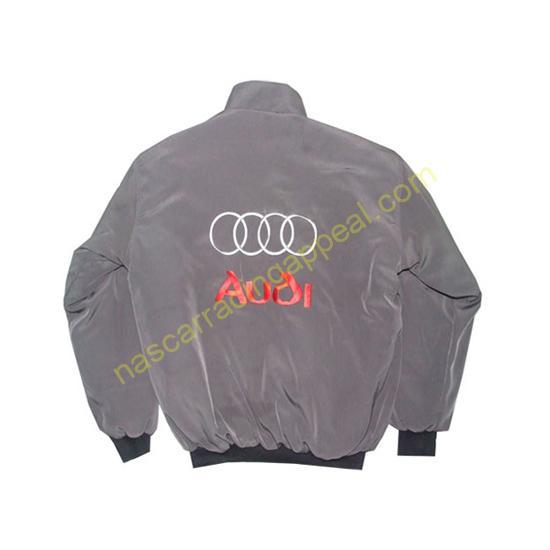 Audi Racing Jacket Dark Gray back