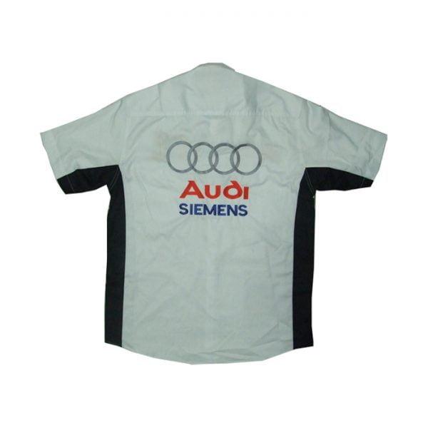 Audi Siemens ADAC Crew Shirt back