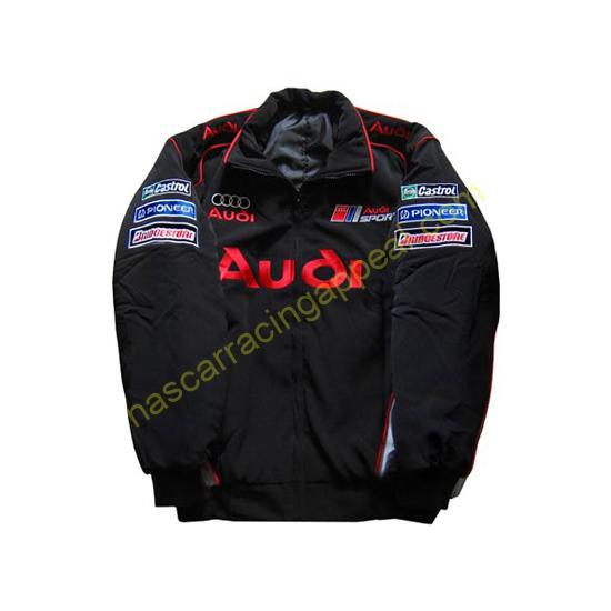 Audi Sport Racing Jacket Black front