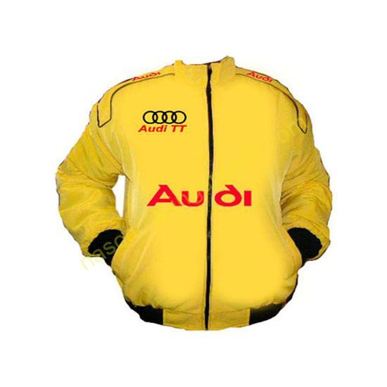 Audi TT Racing Jacket Yellow front