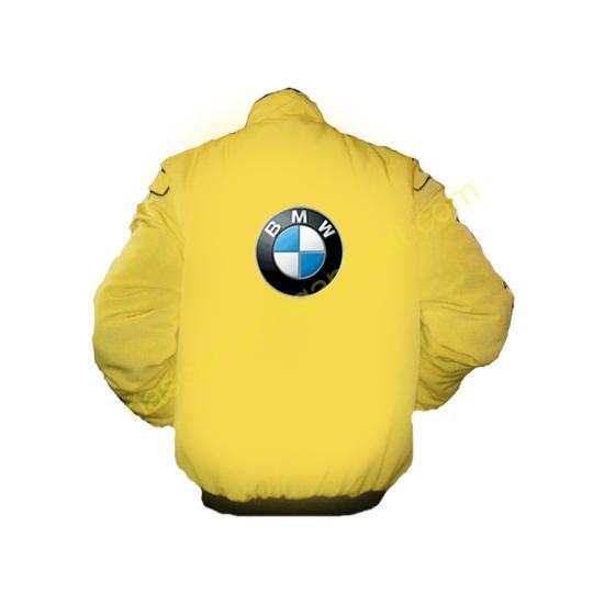 BMW Racing Jacket Royal Yellow