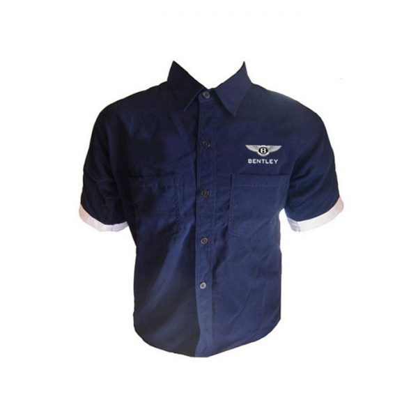 Bentley Crew Shirt Dark Blue