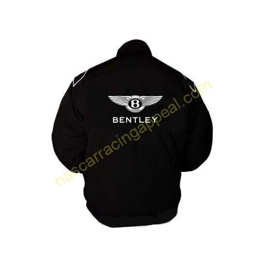 Bentley Racing Jacket Black back