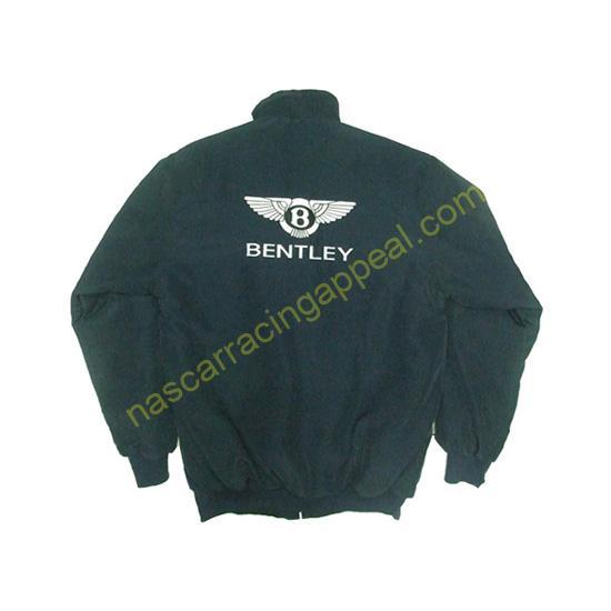 Bentley Racing Jacket Dark Blue back
