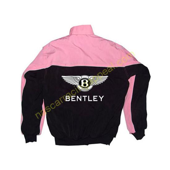 Bentley Racing Jacket Pink and Black