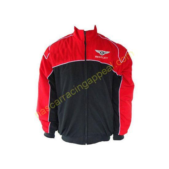 Bentley Racing Jacket Red and Black front