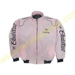 Cadillac Racing Jacket Light Pink