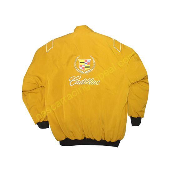Cadillac Yellow Gold Racing Jacket