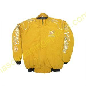 Cadillac Yellow Gold Racing Jacket