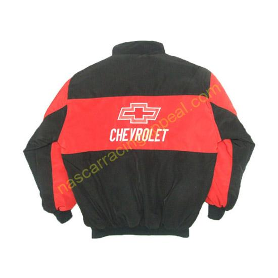 Chevrolet Chevy Red and Black Jacket