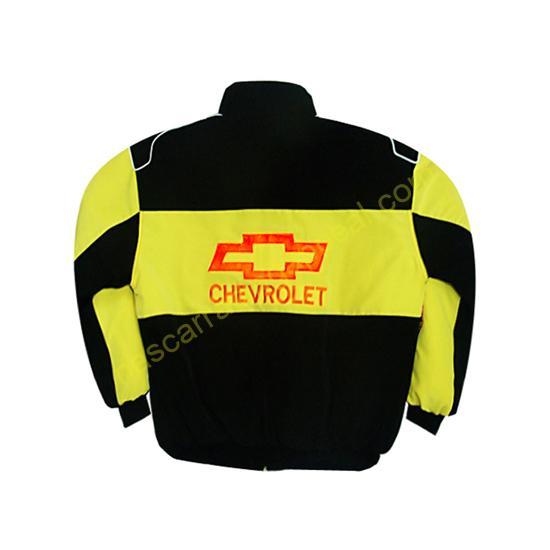 Chevy Chevrolet Racing Jacket Black