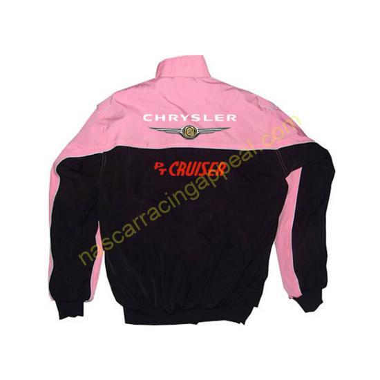 Chrysler PT Cruiser Racing Jacket Pink and Black