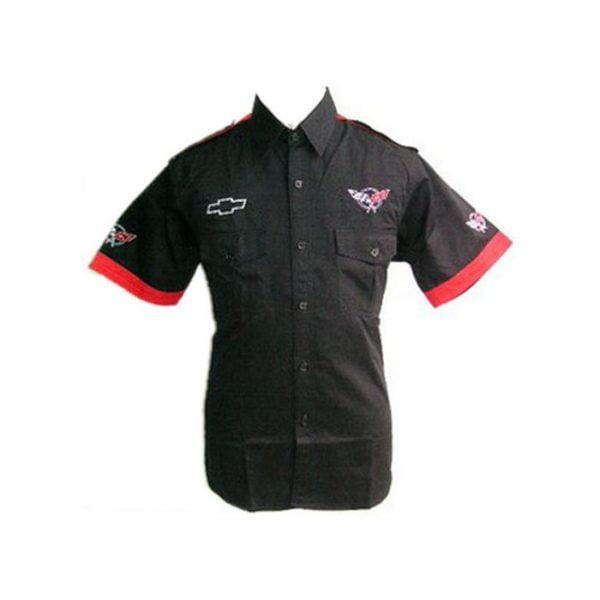 Corvette C5 Crew Shirt Black