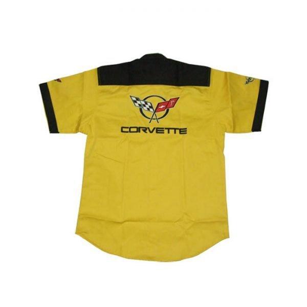 Corvette C5 Crew Shirt Yellow