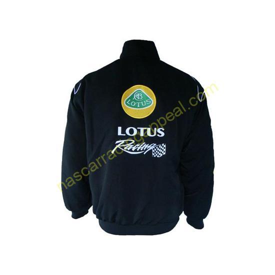Lotus Racing Black Jacket Coat