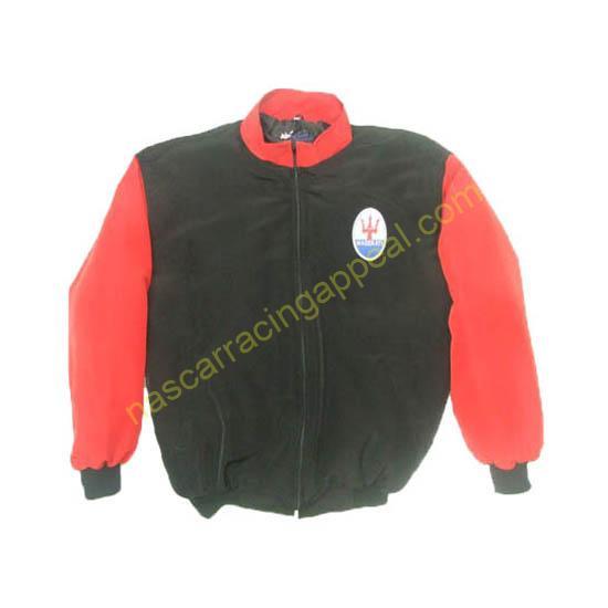 Maserati Racing Jacket Black and Red