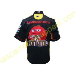 Nascar M Ms Black Polo Shirt