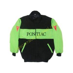 Pontiac Racing Jacket Green and Black