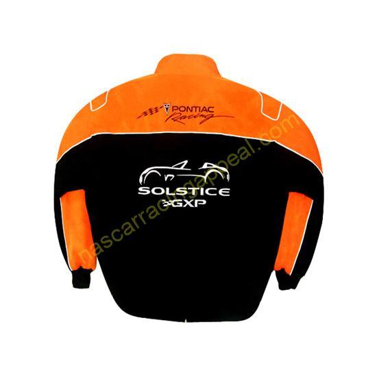 Pontiac Solstice GXP Racing Jacket Black and Orange