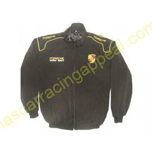 Porsche Motor Sport Racing Jacket Black