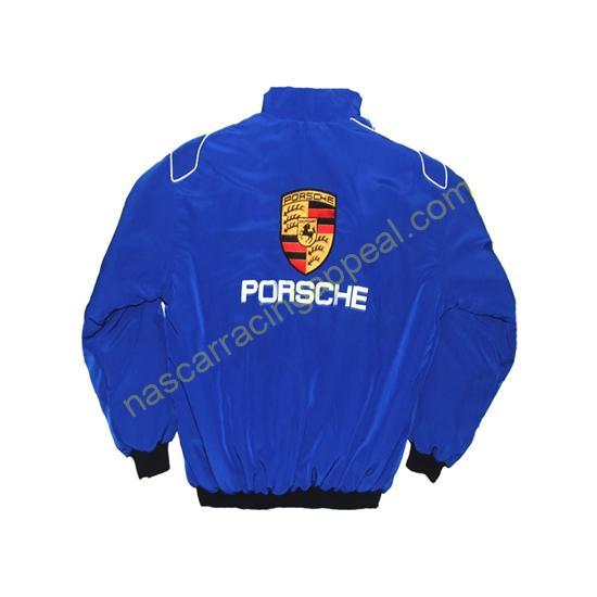 Porsche Racing Jacket Dark Blue