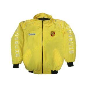 Porsche Racing Jacket Jacke Yellow